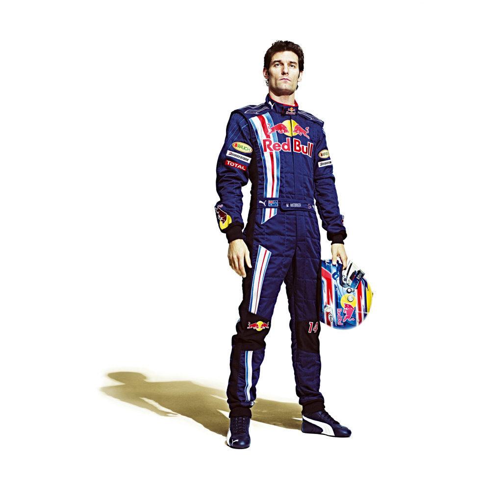 Webber, piloto de Red Bull
