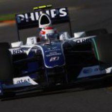 Nakajima sobre su Williams