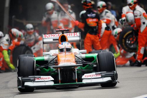 Paul di Resta finaliza su parada y regresa a la pista
