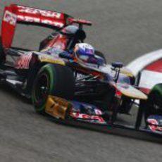Daniel Ricciardo en los libres del Gran Premio de China