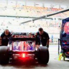 Cepsa, fiel a Toro Rosso