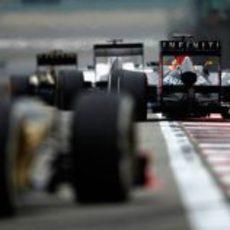 Lucha en el Gran Premio de China 2012
