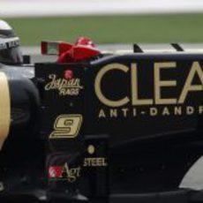 Plano del monoplaza de Kimi Räikkönen en la clasificación del GP de China