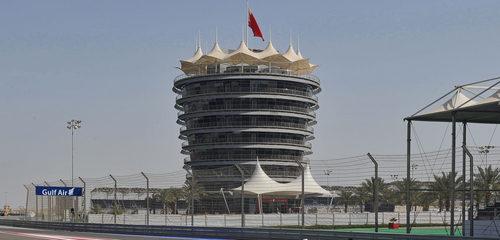 Edificio del circuito de Baréin