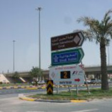 Entrada al Circuito Internacional de Baréin