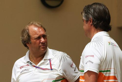 Tensión en Force India