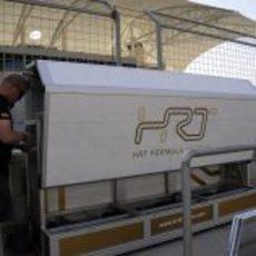 HRT monta su muro de operaciones