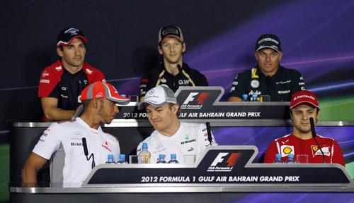 Rueda de prensa de la FIA del jueves en Baréin
