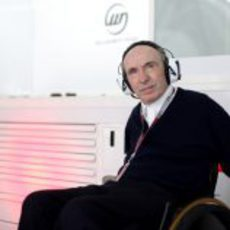 SIR Frank Williams, presente en el Gran Premio de Baréin