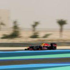 Mark Webber en los libres 3 del GP de Baréin 2012