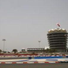 Michael Schumacher en la clasificación de Baréin