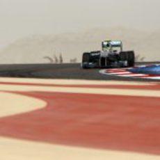 Nico Rosberg saca el máximo de su W03 en Baréin