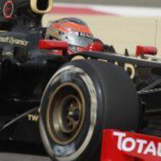 Romain Grosjean saca el máximo partido a su E20