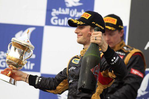 Doble podio para Lotus