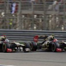 Gran resultado de Lotus en Baréin
