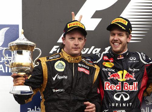 Sebastian Vettel le pone los