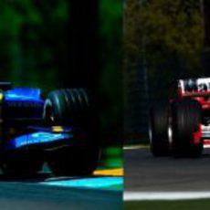 GP de San Marino 2005: Schumacher contra Alonso