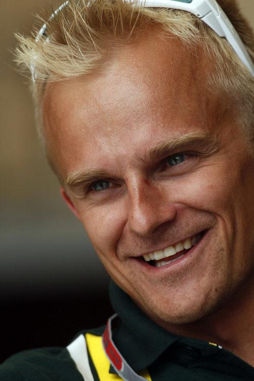 Heikki Kovalanen sonríe