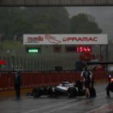 La lluvia recibe a Williams en Mugello