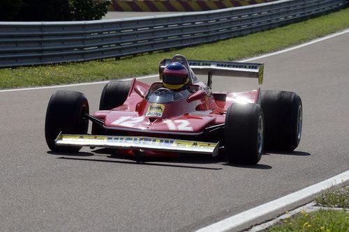 Jacques al volante del Ferrari de 1979