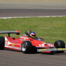 Kilómetros en la pista de Fiorano para el 312 T4 de Gilles Villeneuve
