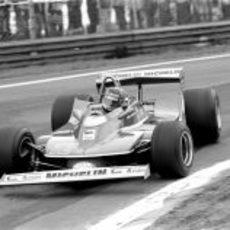Gilles Villeneuve en el GP de Bélgica de 1979