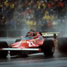 Gilles Villeneuve en el GP de Canadá de 1981