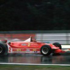 Gilles Villeneuve en el GP de Bélgica de 1980