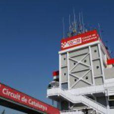 Torre de control del Circuit de Catalunya