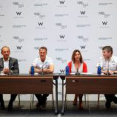 Michael Schumacher en la presentación del acuerdo entre Starwood Hotels&Resorts y Mercedes