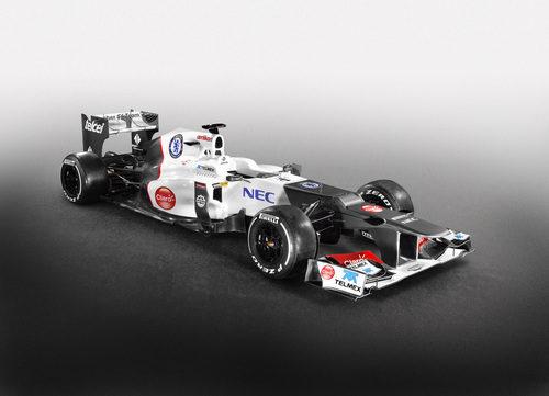Nueva decoración del Sauber C31 a partir del GP de España 2012