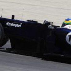 Bruno Senna pilota su FW34 en los segundos libres del GP de España 2012º