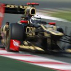 Kimi Räikkönen fue quinto en la clasificación del GP de España