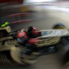 Romain Grosjean superó a Kimi Räikkönen en la clasificación