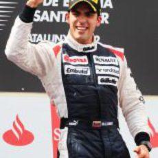 Victoria de Pastor Maldonado en el GP de España 2012