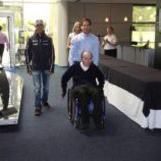 Frank Williams y Pastor Maldonado entran en Grove