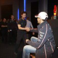 ¡Un saludo del ganador del Gran Premio de España!
