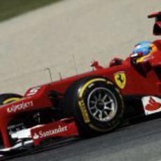 Primer plano del F2012 de Fernando Alonso