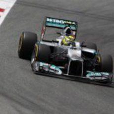 Nico Rosberg durante el sábado en Montmeló