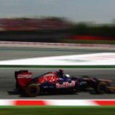 Daniel Ricciardo completa los Libres 3 del GP de España