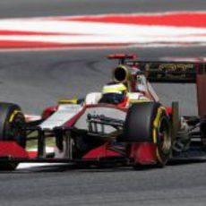 Pedro de la Rosa completa la clasificación en el GP de España