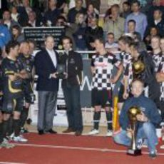 El 'Star Team' jugó contra los pilotos del 'Nazionale Piloti'