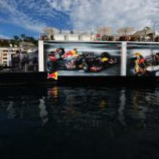 La 'Energy Station' de Red Bull en Mónaco