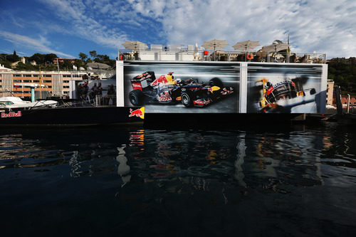 La 'Energy Station' de Red Bull en Mónaco