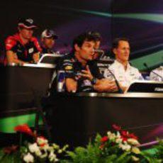 Rueda de prensa de la FIA del jueves en Mónaco