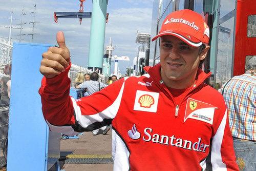 Felipe Massa llega a Mónaco