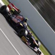 Jean-Eric Vergne en los libres 3 del GP de España 2012