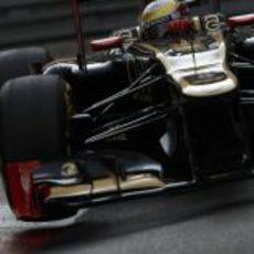 Romain Grosjean en los FP2 de Mónaco