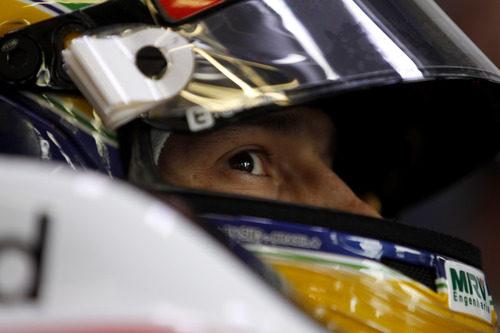 Bruno Senna en su FW34 durante los libres del GP de Mónaco 2012