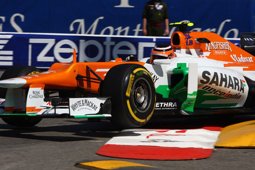 Nico Hülkenberg sigue progresando en Mónaco